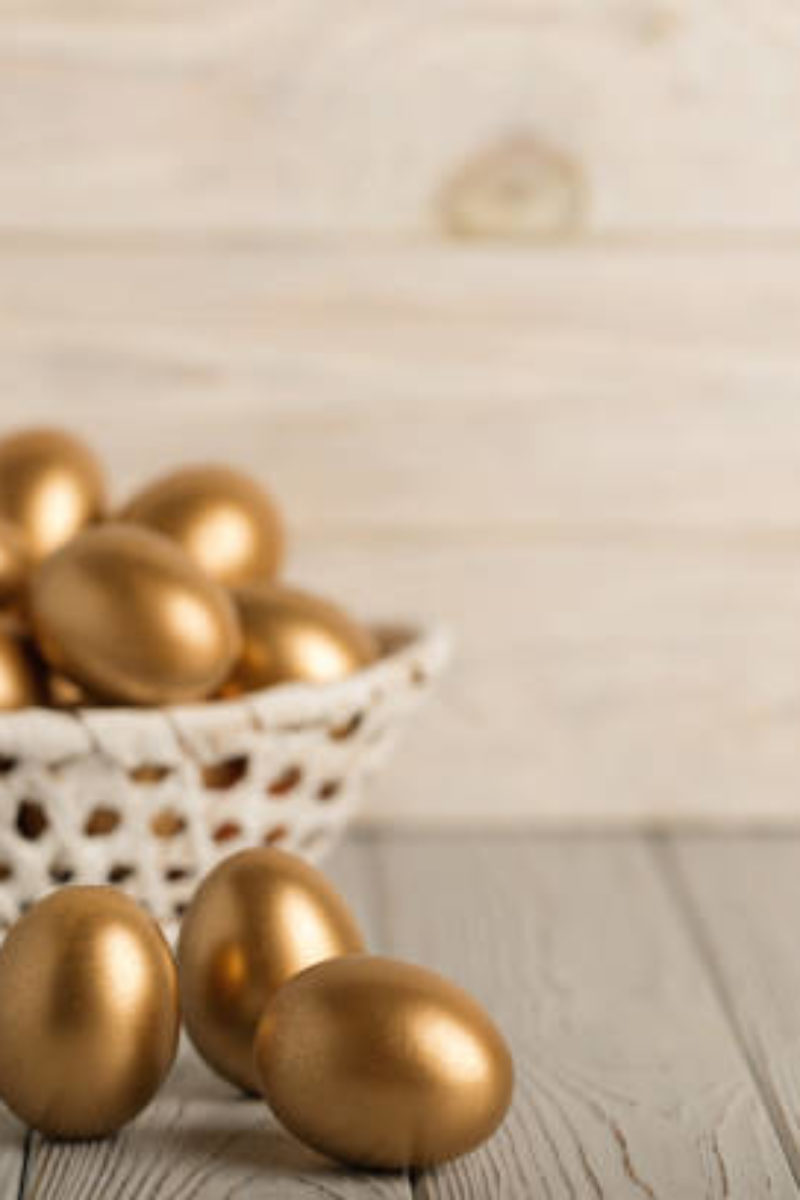 investment basket golden eggs